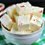 Candy Cane Fudge Photo