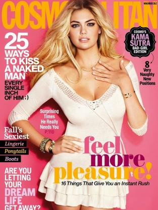 Kate Upton Cosmo Cover