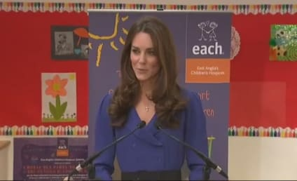Kate Middleton Delivers First Royal Speech