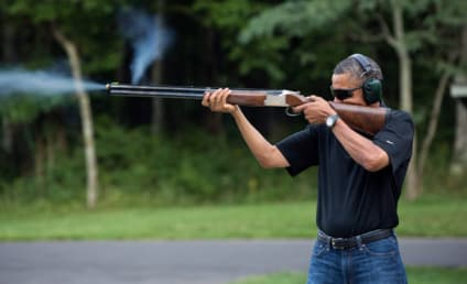 Obama Gun Photo Released Amid Call For Stronger Regulations