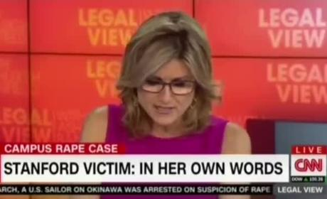 Ashleigh Banfield Reads Full Statement by Stanford Rape Victim on Air