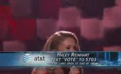 Haley Reinhart Goes Rolling in the Deep