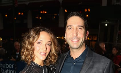 David Schwimmer and Zoe Buckman: Over?