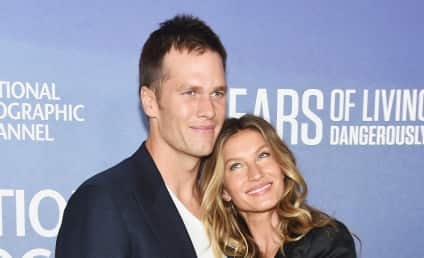 Tom Brady Naked Sunbathing Alert!