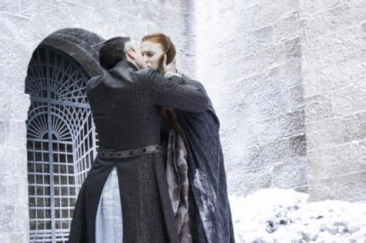 Littlefinger Kisses Sansa