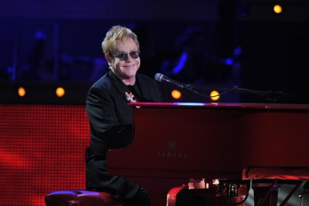 Elton John on Idol