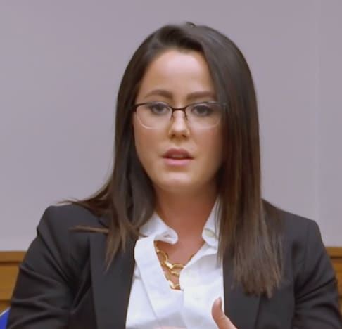 Jenelle in the Courtroom