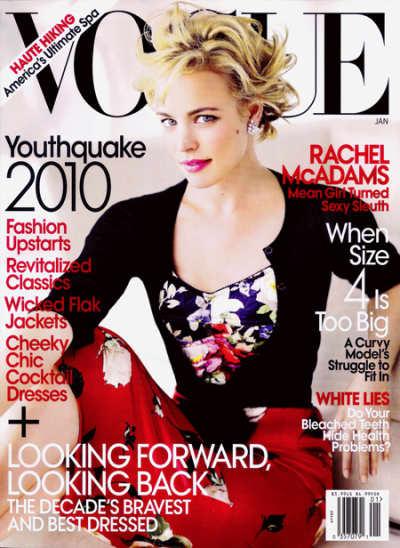 McAdams in Vogue