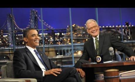 Obama on Letterman