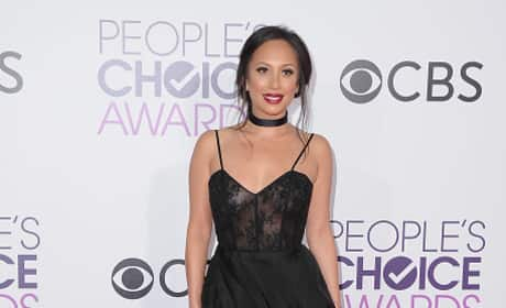 Cheryl Burke at the People's Choice Awards