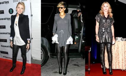 Style Showdown: Blake Lively vs. Rihanna vs. Madonna