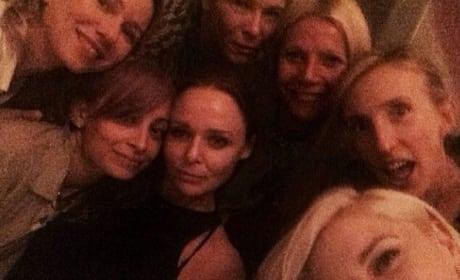 Gwyneth Paltrow Selfie