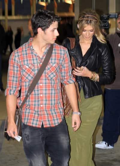 Nick Jonas and Delta Goodrem