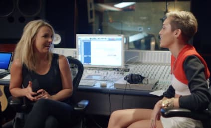 Britney Spears on Miley Cyrus: SHE'S ON FIRE!