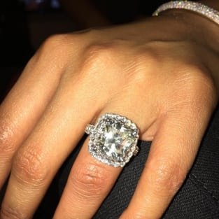 Nick Minaj's (Maybe Engagement Ring)
