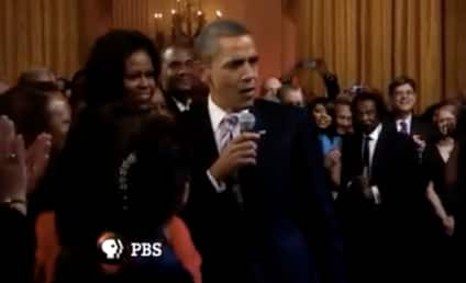 """President Obama Sings """"Sweet Home Chicago"""" With B.B. King, Mick Jagger"""