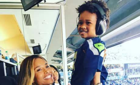 Ciara and Son