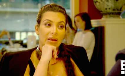 Kim Kardashian Says Weird Stuff About Saint West
