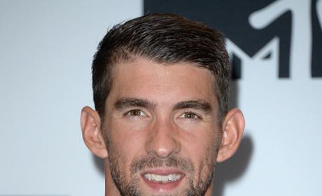 Michael Phelps Attends MTV VMAs