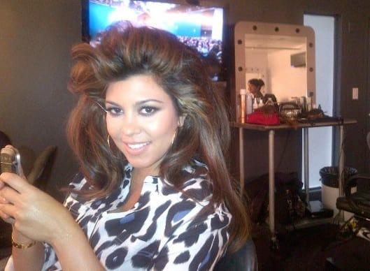 Kourtney Kardashian Twit Picture