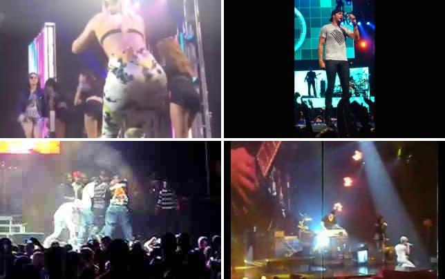 Iggy azalea falls off the stage