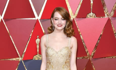 Emma Stone at 2017 Oscars