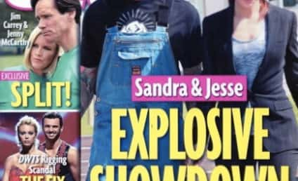 Sandra Bullock-Jesse James Divorce Countdown: Moving Van in the House!