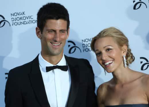 Jelena Ristic, Novak Djokovic