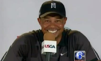 Tiger Woods Surprised By Question From Niece at Press Conference