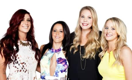 The Cast of Teen Mom 2 Photo