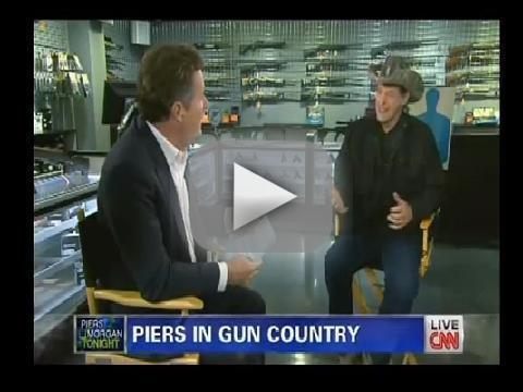 Piers Morgan-Ted Nugent Debate