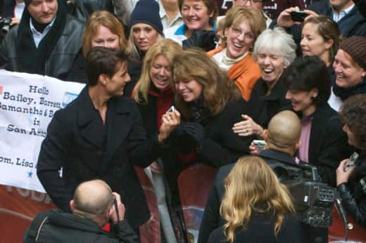 Tom Cruise and Fans