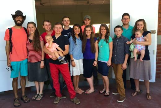 Duggar Family Reunion Pic