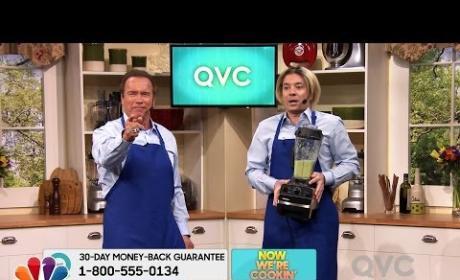 Arnold Schwarzenegger and Jimmy Fallon Spoof QVC