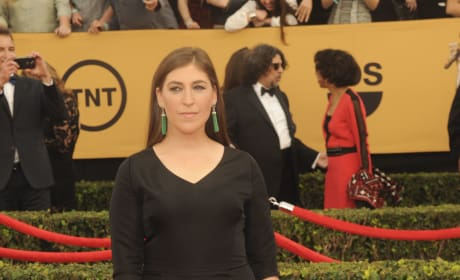 Mayim Bialik at the SAG Awards