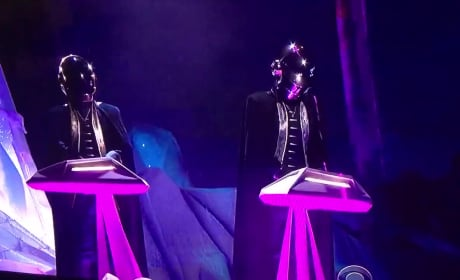 Daft Punk, The Weeknd Grammy Performance Was as Futuristic as You'd Think