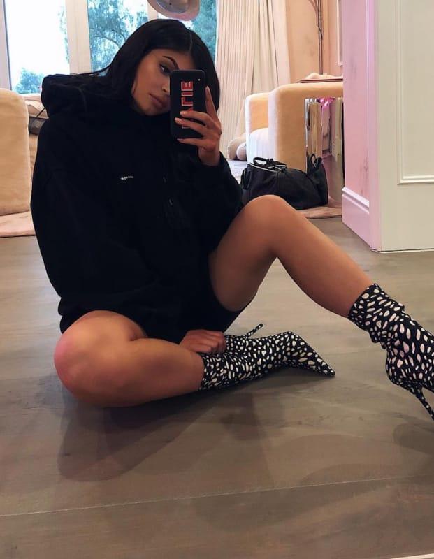 Kylie jenner a sexy selfie