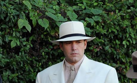 Ben Affleck Films 'Live By Night' in Pasadena