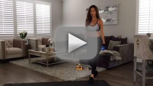 Sarah stage see her insane workout at seven months pregnant