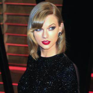 Taylor Swift Sequined Dress Photo