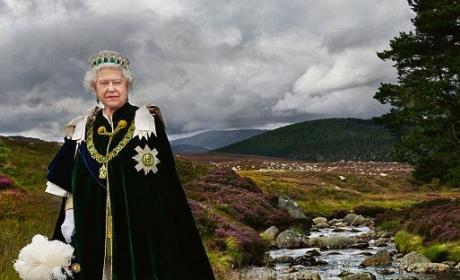 Queen Elizabeth Photograph