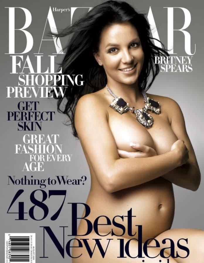 Britney naked pregnant spear