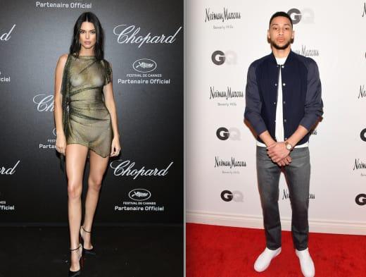 Kendall Jenner-Ben Simmons
