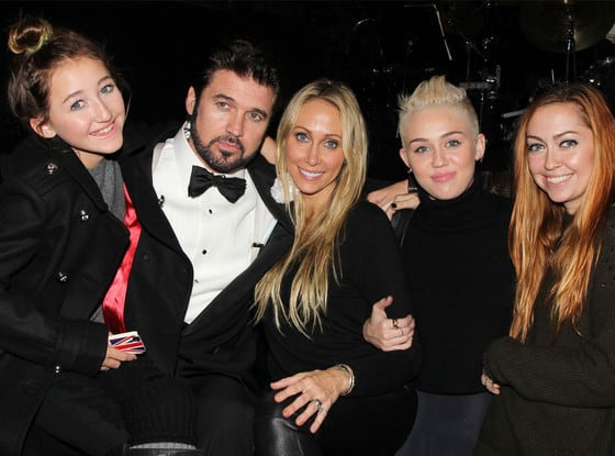 Miley Cyrus and Family