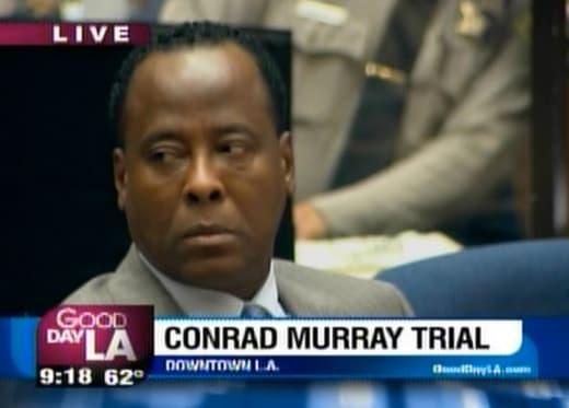 Conrad Murray Trial Pic