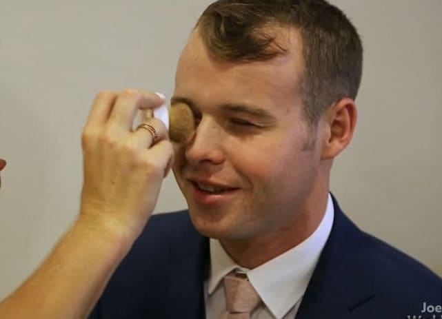 Joseph duggar pre wedding makeup