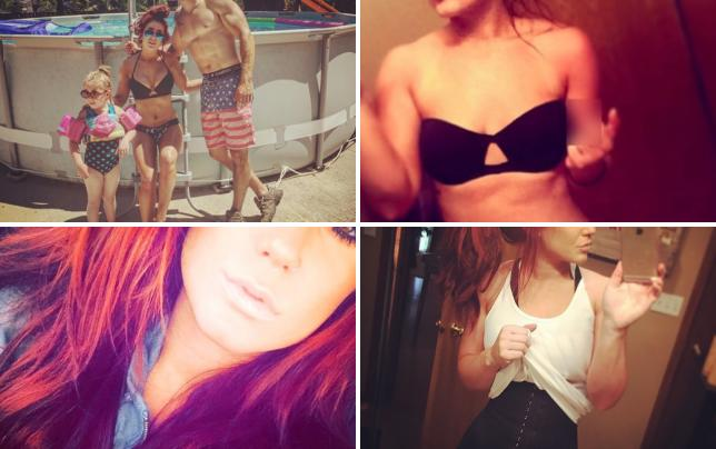 Chelsea houska bikini picture