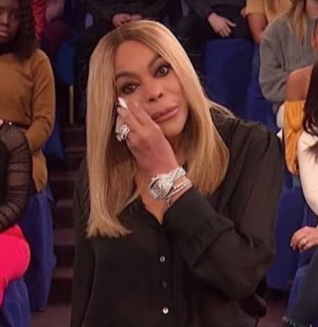 Wendy Williams with a Tear