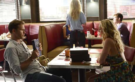 Caroline with Alaric