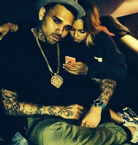 Chris Brown and Karrueche Tran Instagram